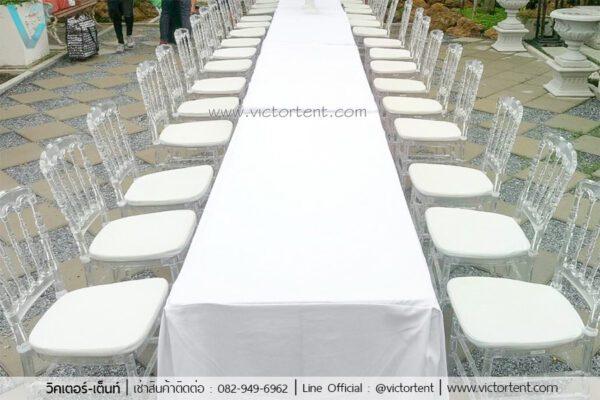 โต๊ะ เก้าอี้งานแต่งให้เช่า